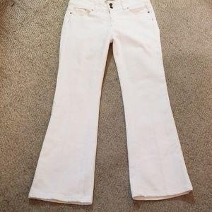 PAIGE Pants - PAIGE Hidden Hills Bootcut White Denim Sz 29